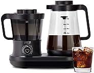 Dash DCBCM550BK Cold Brew Coffee Maker With Easy Pour Spout, 42 oz 1.5 L Carafe Pitcher, Black
