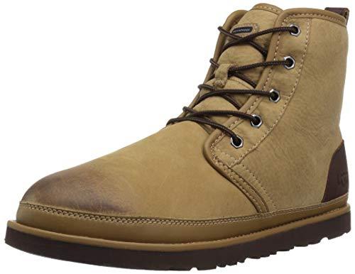 UGG Men's HARKLEY Waterproof Chukka Boot Desert tan 11 Medium US ()