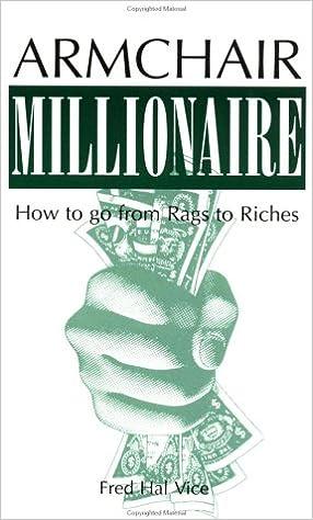 Armchair Millionaire 9780873642040 Economics Books Amazon Com