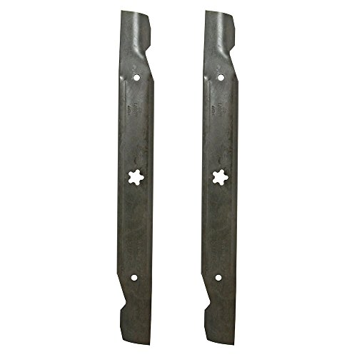 - CRAFTSMAN 138971 Lawn Tractor Premium High-Lift Discharge and Bagging Blade for 42-in Decks, 2-Pack