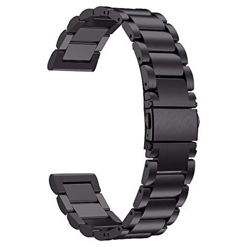 Factorys Fashion Exquisite Smart Watch Bracelet Accessories,For AMAZFIT GTR Smart Watch 47mm Stainless Steel Wrist Strap…