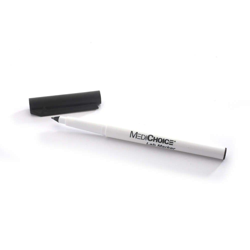 Amazon.com: MediChoice Laboratory Markers, Black (Box of 10): Industrial & Scientific