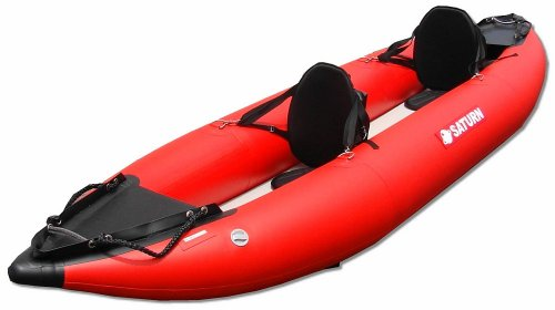 Saturn 13 ft Red Inflatable Expedition Kayak