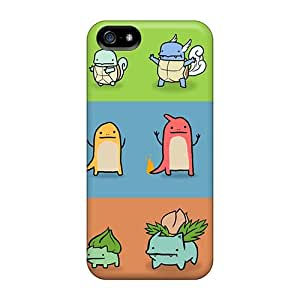 Durable Protector Case Cover With Cute Pokemon Hot Design For Iphone 5/5s