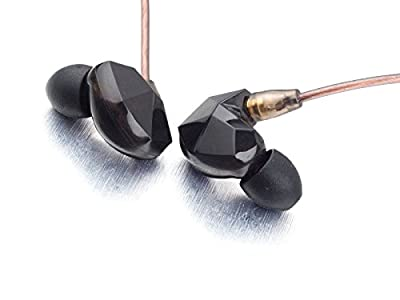 VSONIC VSD3S Black High Fidelity Professional Quality Stereo Inner-Ear Earphones