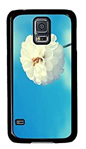 protective Samsung S5 cover Spring White Flower Best PC Black Custom Samsung Galaxy S5 Case Cover