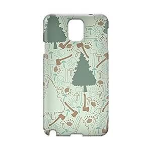 Green Wild Samsung Note 3 3D wrap around Case - Design 1