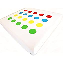 Twistex Novelty Bed Sheet King Size Twister Print Fitted Sheet