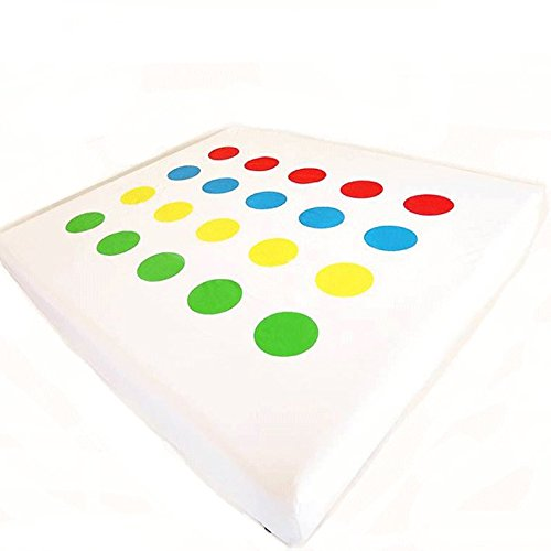 Twistex Novelty Bed Sheet King Size Twister Print Fitted Sheet (Sheets Bed Twister)