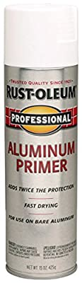 Rust-Oleum 254170 15-Ounce Professional Primer Spray Paint, Aluminum