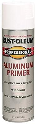 Rust-Oleum 254170 15-Ounce Professional Primer Spray Paint, Aluminum