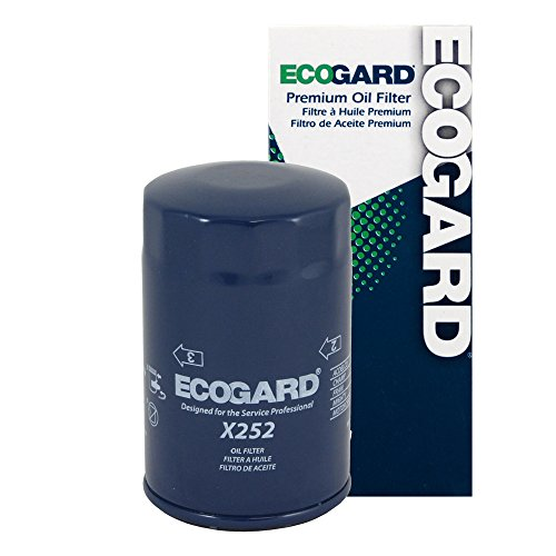 2002 Golf Cabriolet (ECOGARD X252 Spin-On Engine Oil Filter for Conventional Oil - Premium Replacement Fits Volkswagen Jetta, Beetle, Golf, Cabrio, Passat, Vanagon, Cabriolet, Rabbit, Scirocco, Fox, Corrado)