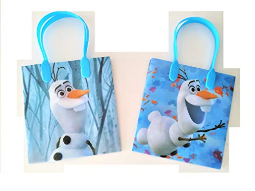 12 Pieces Disney Frozen 2 Olaf Birthday Goody Gift Loot Favor Bags Party Supplies (Frozen 2 Olaf) (Party Supplies Amazon Frozen)
