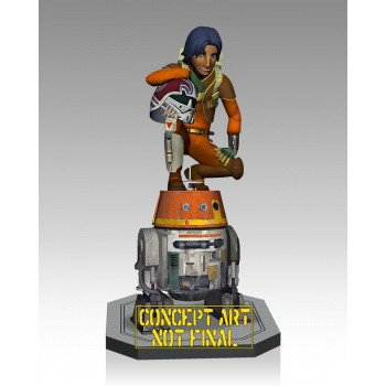 Gentle Giant Ezra and Chopper Maquette Action - Jumbo Chopper