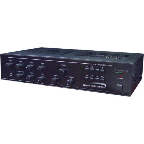 SPECO TECHNOLOGIES ASPC20 PA Horn,Weatherproof,20W,6 In.