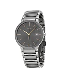 Rado Men's 'Centrix' Quartz Stainless Steel Automatic Watch, Color:Silver-Toned (Model: R30927132) by Rado