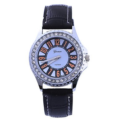 XM bambú diamante momento de la correa de forma redonda relojes chinos movimiento de los hombres () varios colores: Amazon.es: Relojes