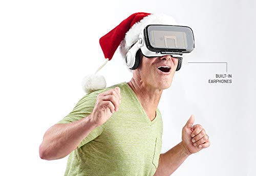 - Sharper Image Bluetooth VR Headset with Earphones