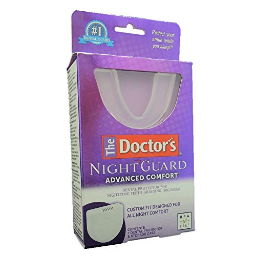 - The Doctor's NightGuard Advanced Comfort Dental Protector for Teeth Grinding, by Doctor's