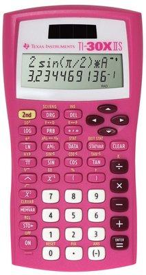 TI30XIISPINK - Description : TI-30XIIS Scientific Calculator, Pink - TI-30XIIS Scientific Calculator - Each by D&H