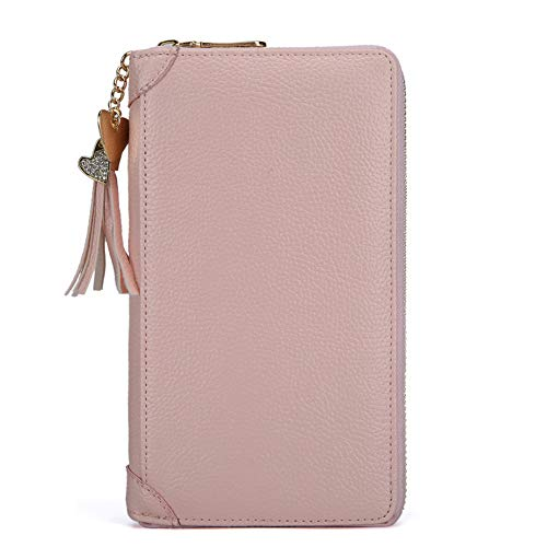Anna Gift's 90 Pocket Business Card Holder,PU Leather Name Card Holder Page,RFID Blocking Leather Credit Card Holder Card Wallets for Men & Women(Light Pink) (Old Navy Visa Credit Card Customer Service Number)