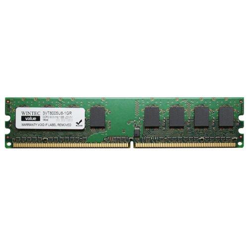 UDIMM Retail 1Rx8 1 Not a Kit (Single) DDR2 800 (PC2 6400) 240-Pin SDRAM 3VT8005U8-1GR (Sm 4 Ch Video)