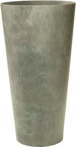 ArtStone Napa Tall Planter, Gray, 27.5-Inch
