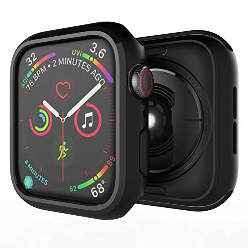 Sincetop Compatible Apple Watch Series 4 Case 40mm, Soft Flexible Ultra-Thin Hard Anti-Scratch and Shockproof TPU iWatch Bumper Cover for Apple Watch Protector 40mm - 1 Pack