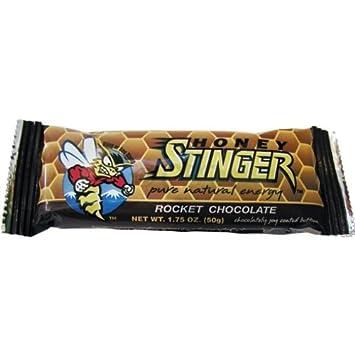 Miel Stinger Barras de chocolate (Rocket): Amazon.es: Deportes y aire libre