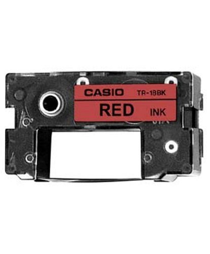 2T55165 - Casio TR-18RD Red Ribbon Cartridge by Casio