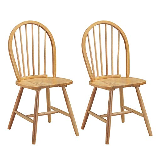 (ejoypay Set of 2 Vintage Winds Side Wood Chairs)