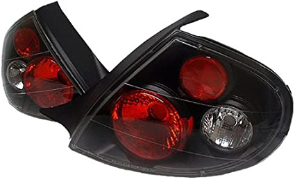 Black 00-02 Dodge Plymouth Neon Altezza Tail Lights Lamps Left+Right Pair Sets