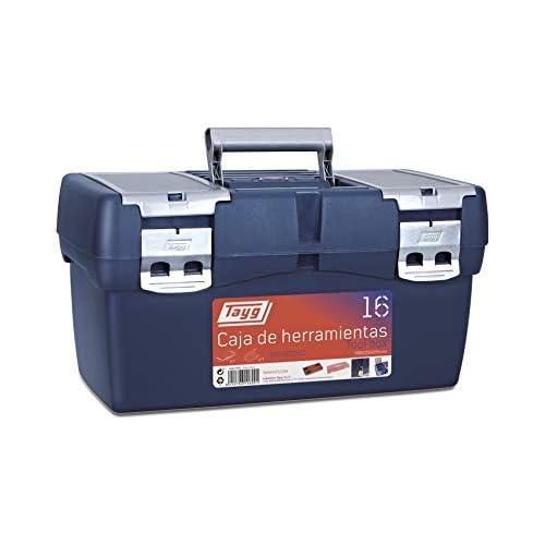 chollos oferta descuentos barato Tayg 16 Caja Herramienta Plástico Azul Rojo 500 x 258 x 255 mm