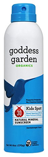 Goddess Garden Organics SPF 30 Kids Sport Natural Mineral Sunscreen - New Formula Available