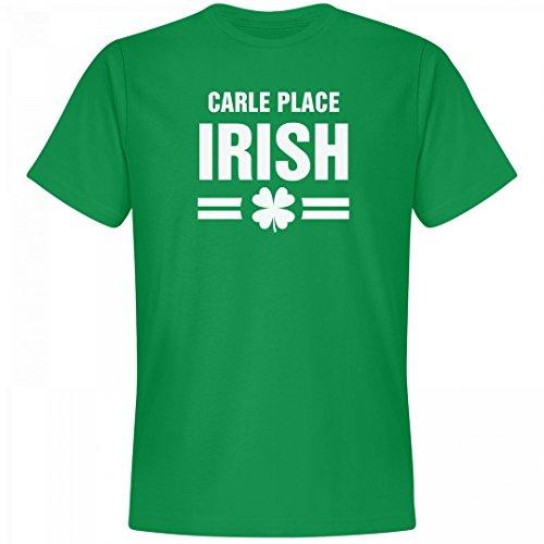 St. Patrick's Day Carle Place Irish Tee: Unisex Next Level Premium T-Shirt (Party City Carle Place)