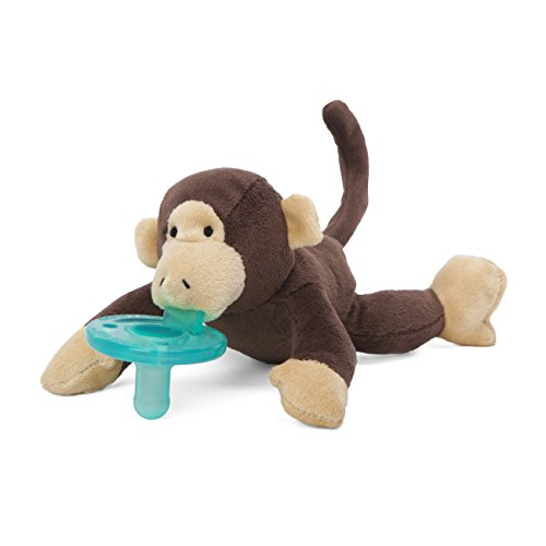 WubbaNub Brown Monkey Pacifier by WubbaNub