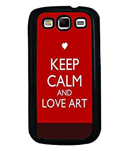 Fuson Meaningful Text Back Case Cover for SAMSUNG GALAXY S3 - D3999