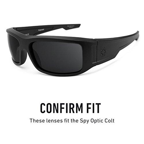 Verres de rechange pour Spy Optic Colt — Plusieurs options Bolt Or MirrorShield® - Polarisés