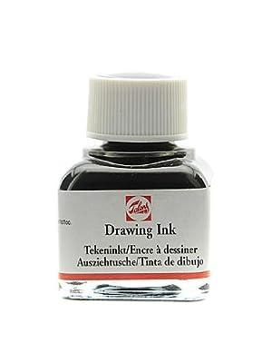 Talens Drawing Inks black 11 ml