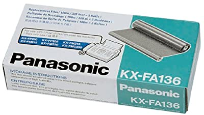 Panasonic KX-FA136 Replacement Ribbon for KX-FP200/FM210/220/205, KX-FMC230