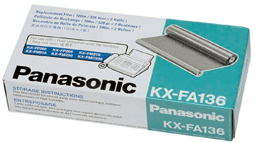 Panasonic KX-FA136 Replacement Ribbon for KX-FP200/FM210/220/205, KX-FMC230 (Kx Fa136 Refill)