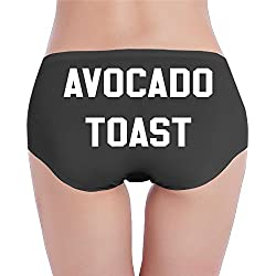 Funny Avocado Sexy Women's Hotshort Girls Basic Underwear For Women Customized Practical Size S