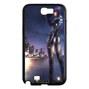 Samsung Galaxy N2 7100 Cell Phone Case Black Ghost in the shell Anime I7F2MV