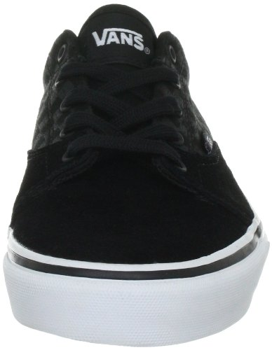 Vans Kress VNLFLEH - Zapatillas de ante para niño Negro