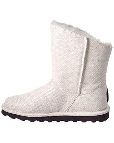 Bearpaw Womens Mimi Fashion Boot White Snake