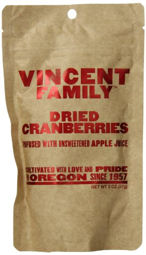 Vincent Family Dried Cranberries ,2 oz