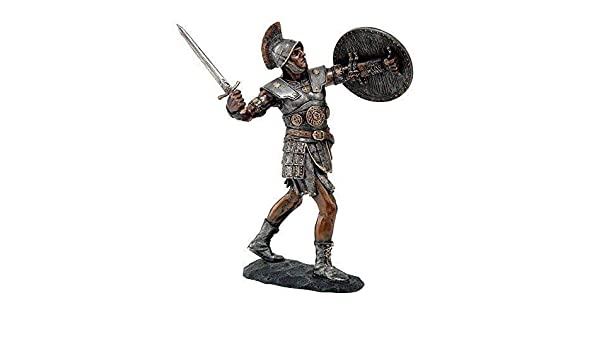 Amazon.com: ShopForAllYou Figurines and Statues 9 Inch Tall Knight with Sword and Shield Fight in Battle Figurine Resin Statue: Home & Kitchen