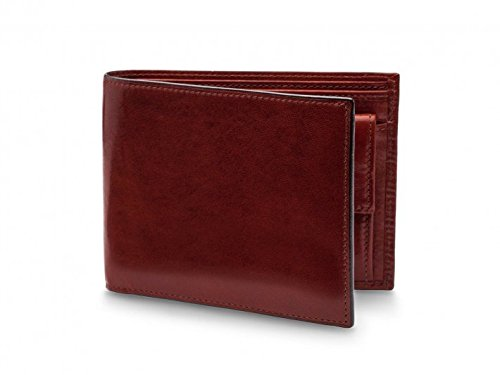 Coin Old Leather Men's Dark Brown Pocket with Executive Bosca Bifold RFID Wallet 85qnpcUO