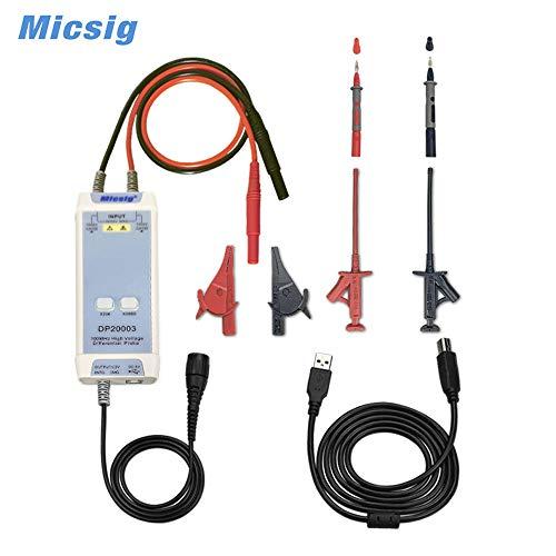 Micsig P130A 200MHz passive socilloscope probe x10 oscilloscope probe clip