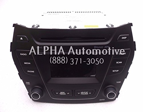 Genuine Hyundai 96180-4Z100-4XFLT Audio Assembly